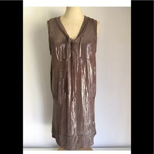 MARC By Marc Jacobs Brown Sleeveless Dress Sz M